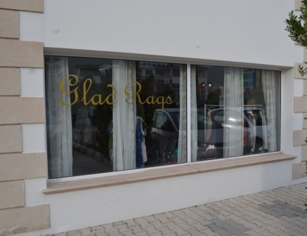 2. Glad Rags shop front