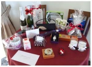 Lovely raffle prizes