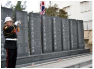 2012 Remembrance Service, Kyrenia
