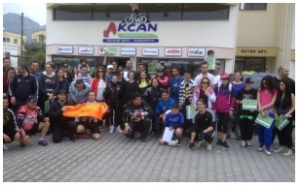 Meeting at Akcan Cycle Shop