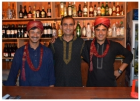 Riaz and his friendly staff