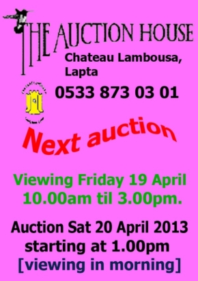 April 2013 Lambousa Auction