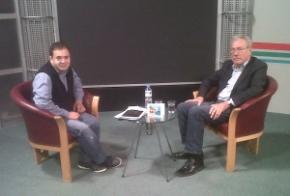 (left) Can Gazi and Brian Self (right)