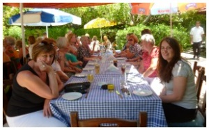 NCCCT Lunch at Le Jardin