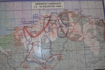 42. Map of the stricken area sml