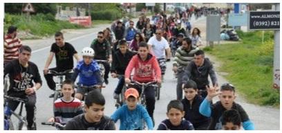 Cycle tour - 400