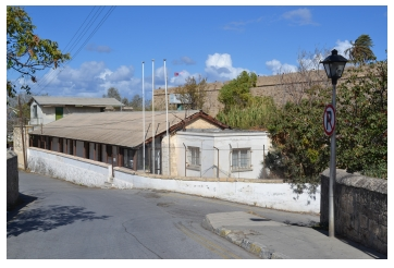 Site of the old Kyrenia Police Station