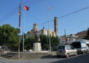 Esentepe square and mosque image