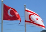 Turkish and Cyprus flags image