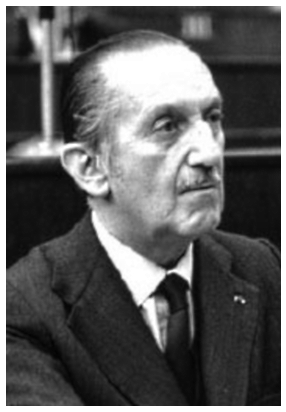 Evangelos-Averoff, Foreign Minister of Greece in 1956