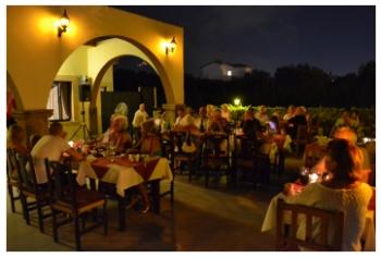 Dining under the stars at Al Shaheen