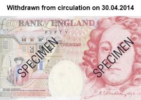 Houblon £50 note image