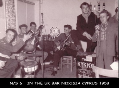 Cyprus History - Finding Friends 1958/59 Suffolk Regiment