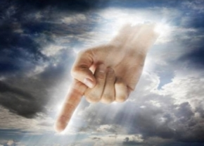Hand of God image