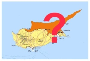 Cyprus Map divided