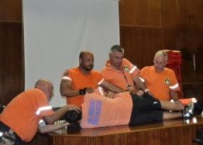 First Aid training at Lefkosa State Hospital image