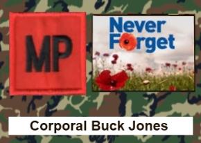 Corporal Buck Jones