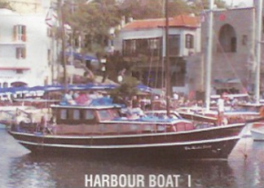 Harbour boat image