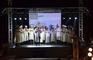 The Imams give prayers