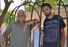 Hasan Ozersoy and his son Ali