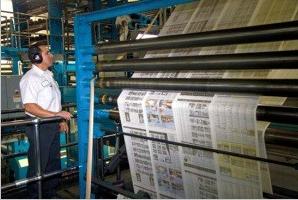 Printing the news