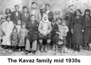 The Kavaz family mid 1930s.  image