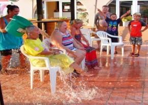 Leslie, Carole & Lynda ice bucket challenge donet