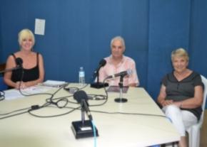Denise Phillips, Chris Elliott and Margaret Sheard image