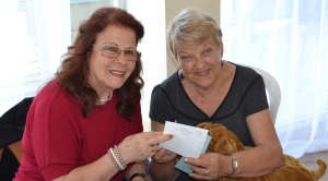 Tomris receives donation