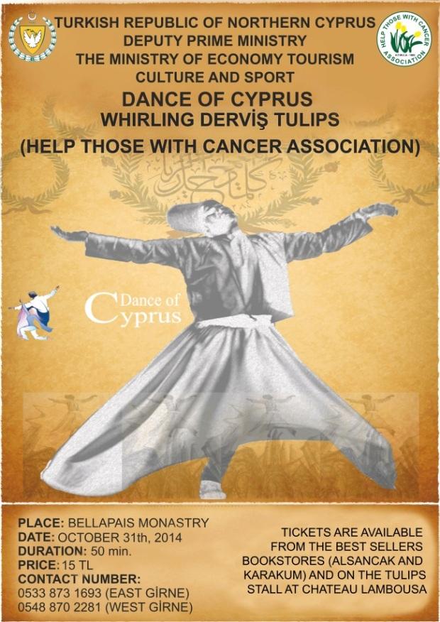 Whirling Dervish 31.10.14 poster