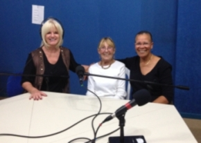 Denese Phillips with Jewel Pearce and Pearl Mitchell image