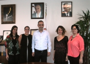 Visit to Mayor Mehmet Harmanci