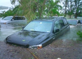 Flood in TRNC