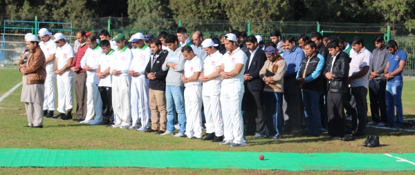 North Cyprus - TRNC Cricket Clubs pay homage to Peshawar School Children