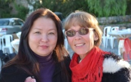 Svetlana Krupovich and friend