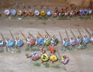 6 Battle of Cannae 216 BC. Spanish and Celtic infantry - image