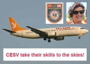 CESV take their training to the skies