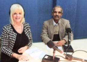 Denise Phillips and Ahmet Abdulaziz