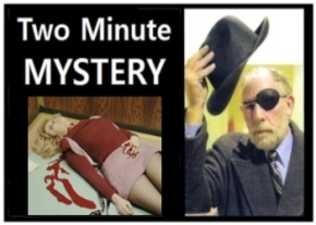 Two Minute Mystery No 6