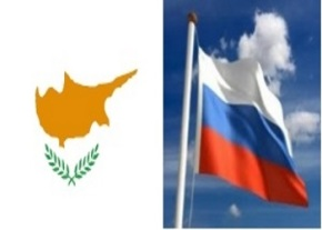Cyprus and Russian flag image