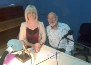 Denise Phillips with Michael De Glanville