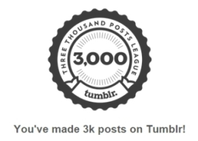 3000 posting on tumblr 2 image