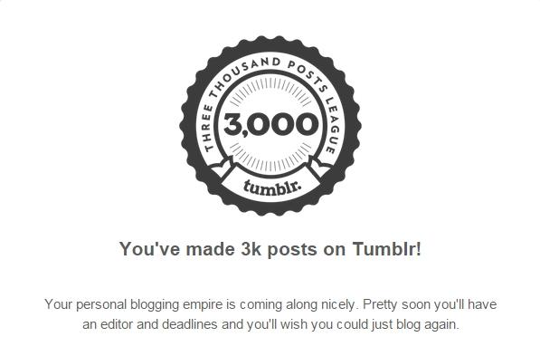 3000 posting on tumblr 2
