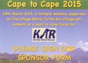 Cape to Cape walk for KAR image