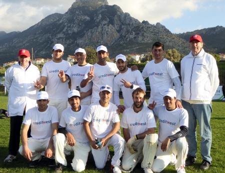 Girne winning team