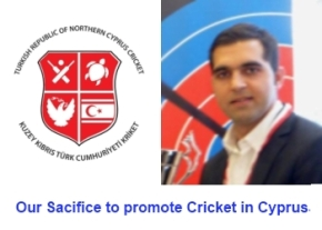 Our sacrifice to promote cricket in cyprus