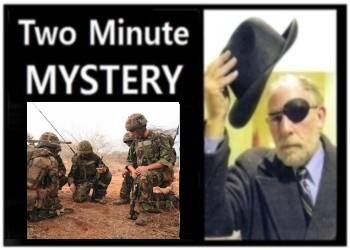 Two Minute Mystery No 14
