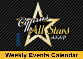 ASAP Weekly Events Calendar image