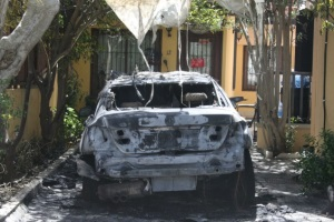Cyprus Mail - Car torched