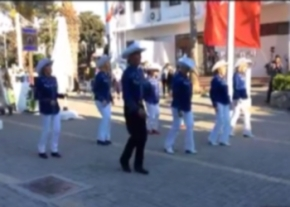 The Phoneix Line Dancers at St Georges Day at Cafe George Girne image